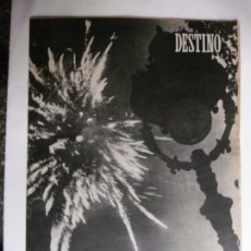 Coleccionismo de Revista Destino: REVISTA DESTINO - Nº 881 - 1954 - LA NOCHE DE SAN JUAN. Lote 178823525