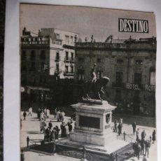 Coleccionismo de Revista Destino: REVISTA DESTINO Nº 897-1954 -REUS, ENTRE LAS FIESTAS Y LA FERIA- INFORMACION SOBRE LA CIUDAD DE REUS. Lote 178824527