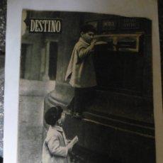 Colecionismo da Revista Destino: REVISTA DESTINO - Nº 908 - 1955 - CARTA A LOS REYES MAGOS - EL MUNDO EN LA ENCRUCIJADA ATOMICA. Lote 179004331