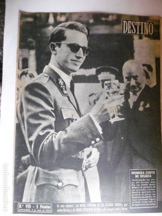 Coleccionismo de Revista Destino: REVISTA DESTINO - 1955 - 11 REVISTAS DESTINO DIFERENTES - Foto 2 - 179009620