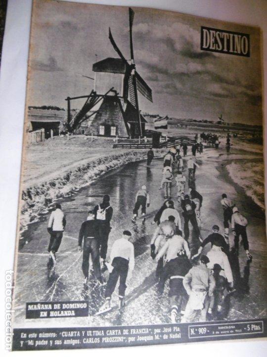 Coleccionismo de Revista Destino: REVISTA DESTINO - 1955 - 11 REVISTAS DESTINO DIFERENTES - Foto 7 - 179009620