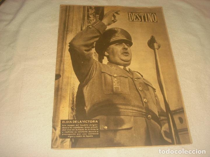 DESTINO N.660. ABRIL 1950. EN PORTADA FRANCO , EL DIA DE LA VICTORIA. (Coleccionismo - Revistas y Periódicos Modernos (a partir de 1.940) - Revista Destino)
