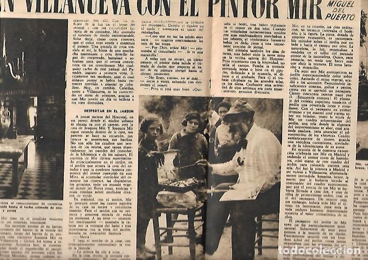 Coleccionismo de Revista Destino: AÑO 1950 OLIVEIRA SALAZAR ESCUELA DE COMERCIO MERCAT BORN PINTURA MIR VILANOVA GELTRU RAMON CALSINA - Foto 2 - 10873130