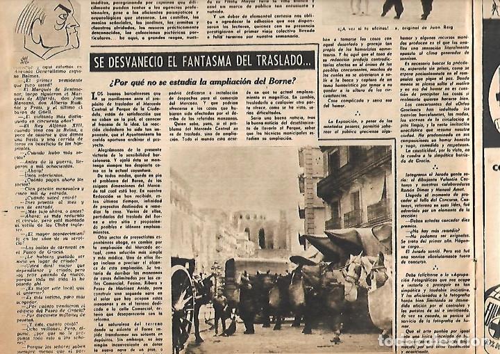 Coleccionismo de Revista Destino: AÑO 1950 OLIVEIRA SALAZAR ESCUELA DE COMERCIO MERCAT BORN PINTURA MIR VILANOVA GELTRU RAMON CALSINA - Foto 4 - 10873130