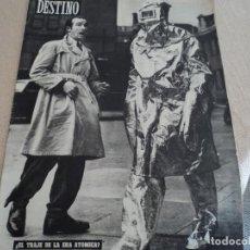 Coleccionismo de Revista Destino: DESTINO Nº 871 ABRIL 54, JOSE ESPINOS, JUEVES SANTO EN BARCELONA, CARLOS PEREZ DE ROSAS...ETC. Lote 183401073