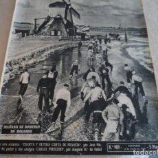 Coleccionismo de Revista Destino: DESTINO Nº 909 ENERO 55,PALACIO COMILLAS, ANTONIO MAURA,... Lote 183445796