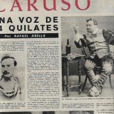 Coleccionismo de Revista Destino: AÑO 1961 OPERA CARUSO COMARRUGA FESTIVAL INTERNACIONAL CINE SAN SEBASTIAN MASNOU KODAK NESCAFE. Lote 11052797