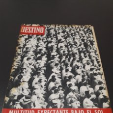 Collectionnisme de Magazine Destino: TETE MONTOLIU, MICHEL BUTOR, JOSE ANTONIO CODERCH, ROSSANO BRAZZI. 1967.. Lote 184095887