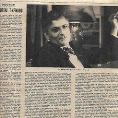 Coleccionismo de Revista Destino: AÑO 1958 CALISAY CODORNIU GABRIEL MIRO EL II CONDE GUELL DOCTOR DURAN REYNALS MEDICINA JUAN FUSTER. Lote 11562091