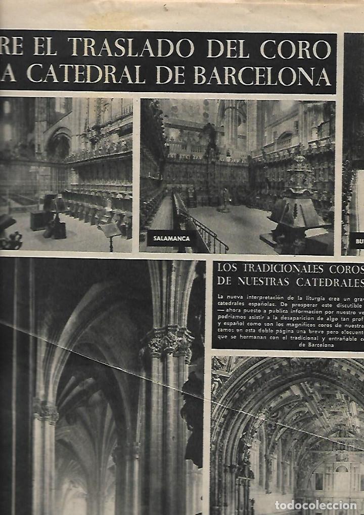 1958 CORO CATEDRAL BCNA TOLEDO SEVILLA MALAGA ARGENTONA CORPUS FLAMENCO LA CHUNGA HERMAN MELVILLE (Coleccionismo - Revistas y Periódicos Modernos (a partir de 1.940) - Revista Destino)