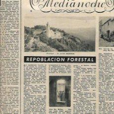 Coleccionismo de Revista Destino: AÑO 1953 NADAL VILARDAGA CICLON LA ORATAVA TENERIFE VICENTE RISCO ANDRES PERELLO HORTSAVINYA. Lote 11604299