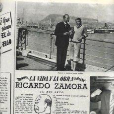Coleccionismo de Revista Destino: AÑO 1955 FUTBOL RICARDO ZAMORA GERONA MUERTE CONCHA ESPINA HOCKEY PATINES OXFORD CODORNIU CAVA. Lote 11608106