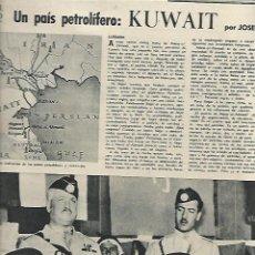 Coleccionismo de Revista Destino: AÑO 1959 VERDU AMANDO DOMENECH LAS RAMBLAS PINTURA TORRAS BACHS KUWAIT PETROLEO HAMBURGO. Lote 11611418