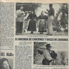 Coleccionismo de Revista Destino: 1953 EL CORCHO EMPORDA SURO MALLORCA JARDINES LIBRO DE OCASION SANABRIA BAILE XAVIER NOGUES DIBUJO. Lote 11616455