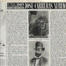 Coleccionismo de Revista Destino: AÑO 1953 JOSE CARRERAS XURIACH LAS BALEARES CARLOS RIBA CADAQUES IGUALADA SERGE LIFAR BALLET. Lote 11616758