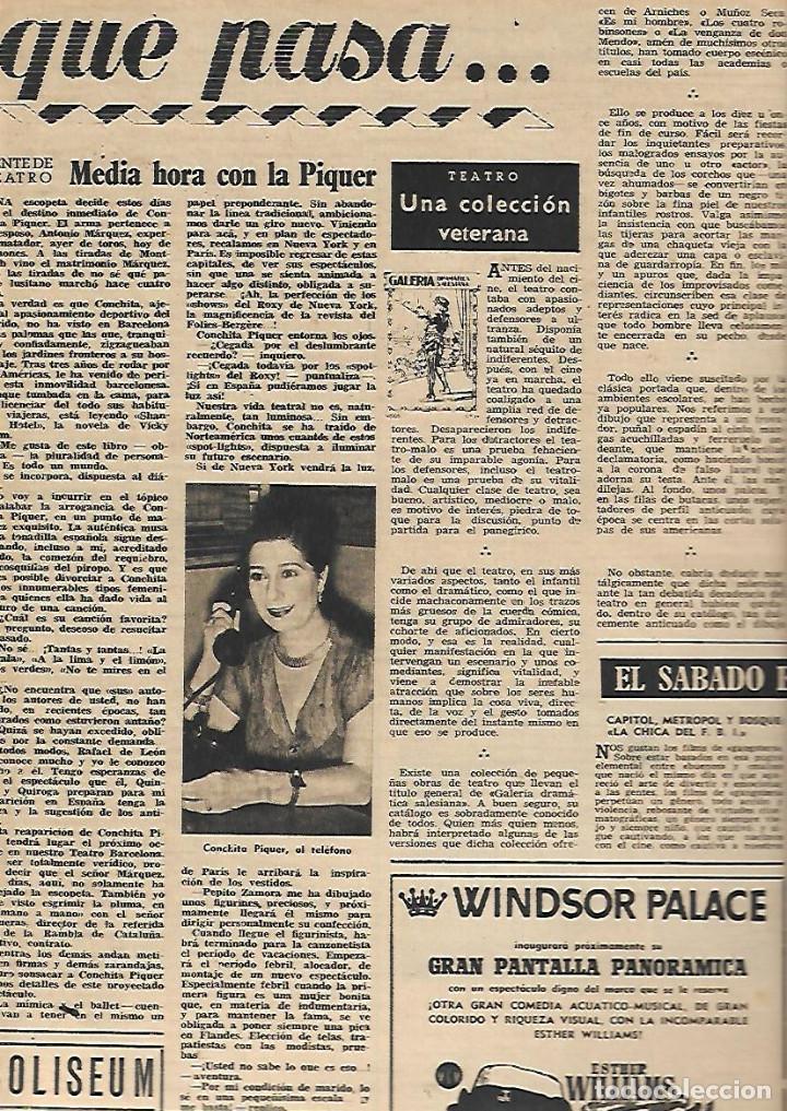 Coleccionismo de Revista Destino: AÑO 1953 COMUNICACIONES EN EL MOTNEGRE EL CIRCO VICENTE ALEIXANDRE DOCE VENTRILOQUIA LLOVET C PIQUER - Foto 3 - 11621406