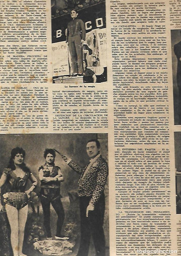 Coleccionismo de Revista Destino: AÑO 1953 COMUNICACIONES EN EL MOTNEGRE EL CIRCO VICENTE ALEIXANDRE DOCE VENTRILOQUIA LLOVET C PIQUER - Foto 5 - 11621406