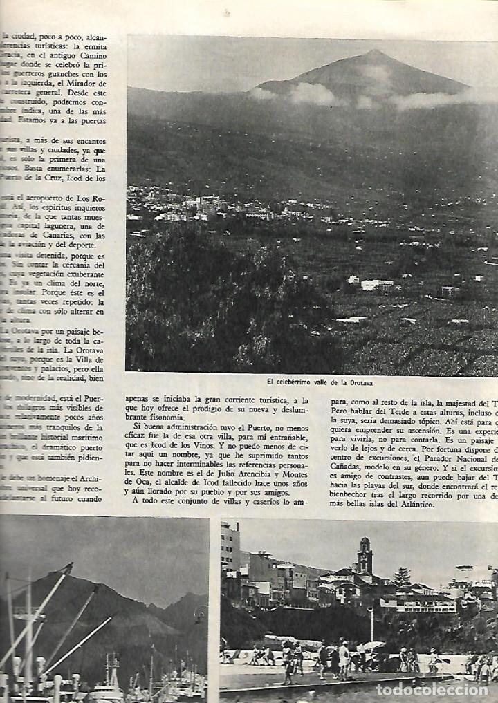 Coleccionismo de Revista Destino: 1967 LOS XUETAS OLOT VOLCAN TENERIFE ESCUELAS MUNICIPALES BCNA MANUEL ORTINEZ A MARTORELL S ESPRIU - Foto 3 - 11710369