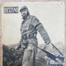 Collectionnisme de Magazine Destino: DESTINO 3 DE ENERO DE 1959 - FIDEL CASTRO GANA A BATISTA. Lote 189880788