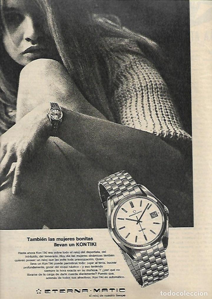 Coleccionismo de Revista Destino: AÑO 1970 MERCAT EL BORN LLEIDA FERRAN SOLDEVILA JACINT ESTEVA CINE LEJOS DE LOS ARBOLES ETERNA MATIC - Foto 4 - 11728348