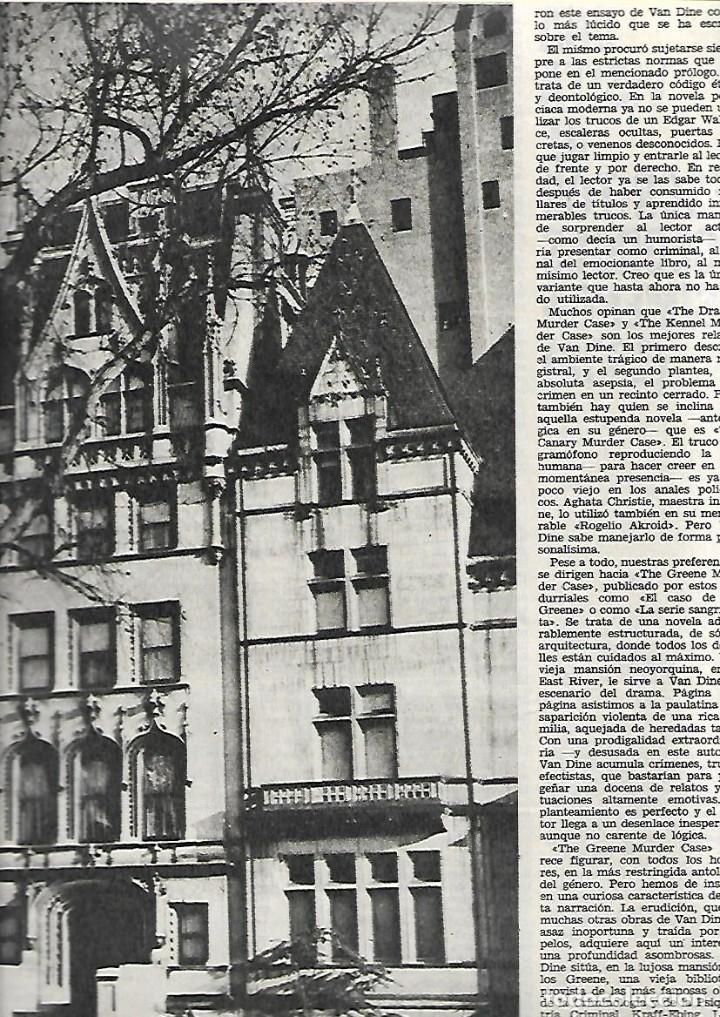 Coleccionismo de Revista Destino: AÑO 1971 ESPECIAL LA NOVELA POLICIACA AGHATA CHRISTIE REGLAS VAN DINE SHERLOCK HOLMES DETECTIVE CINE - Foto 4 - 11760491