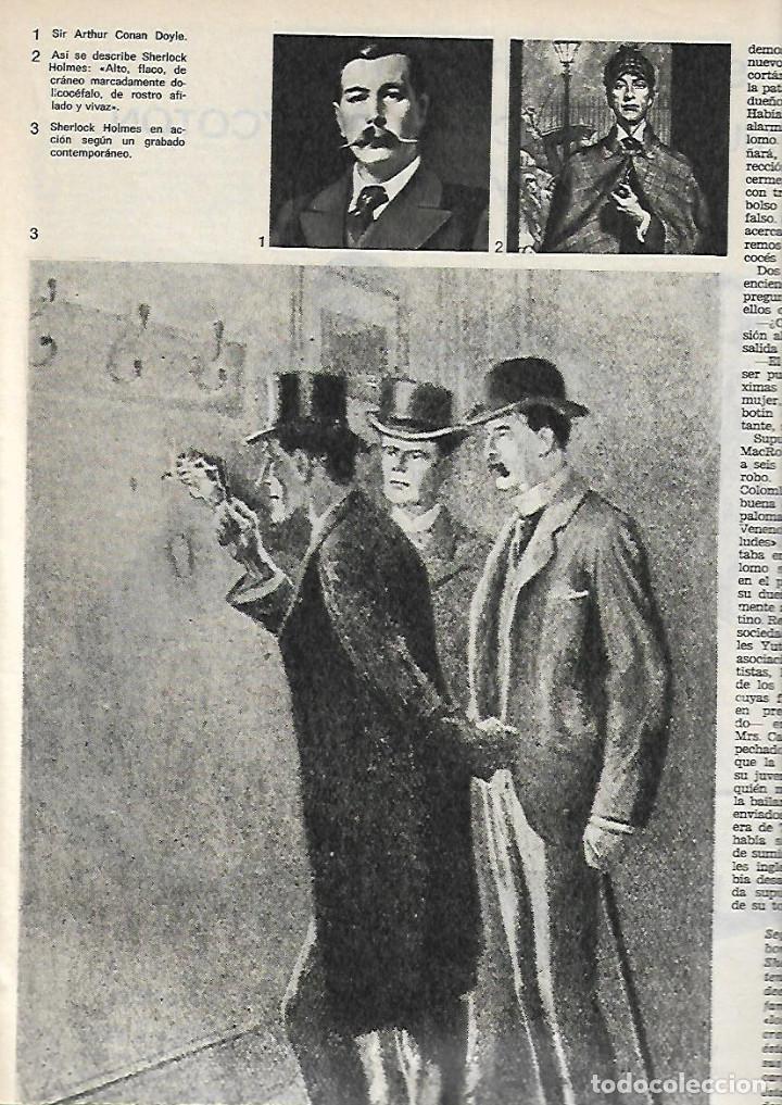 Coleccionismo de Revista Destino: AÑO 1971 ESPECIAL LA NOVELA POLICIACA AGHATA CHRISTIE REGLAS VAN DINE SHERLOCK HOLMES DETECTIVE CINE - Foto 5 - 11760491