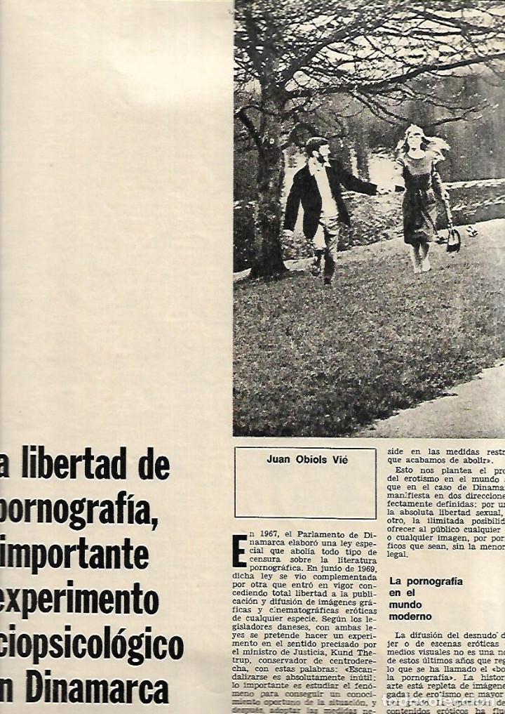 Coleccionismo de Revista Destino: AÑO 1970 ESPECIAL COPENHAGUE HISTORIA PORNOGRAFIA ELSINOR COCINA NORDISK ANDERSEN SOREN KIERKEGAARD - Foto 2 - 11775262