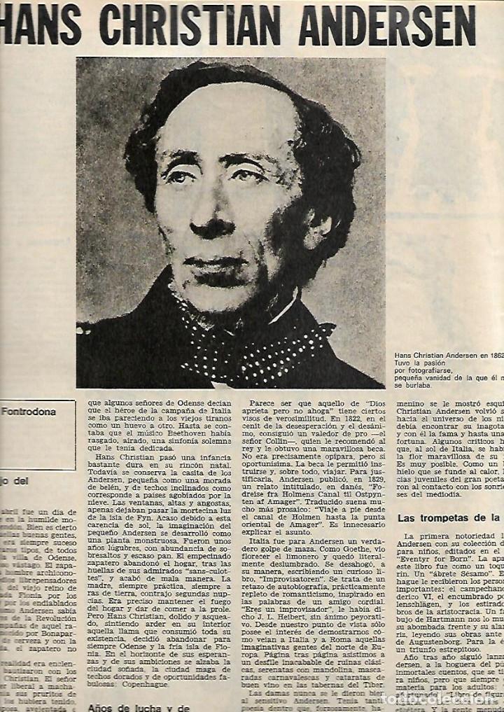 Coleccionismo de Revista Destino: AÑO 1970 ESPECIAL COPENHAGUE HISTORIA PORNOGRAFIA ELSINOR COCINA NORDISK ANDERSEN SOREN KIERKEGAARD - Foto 4 - 11775262