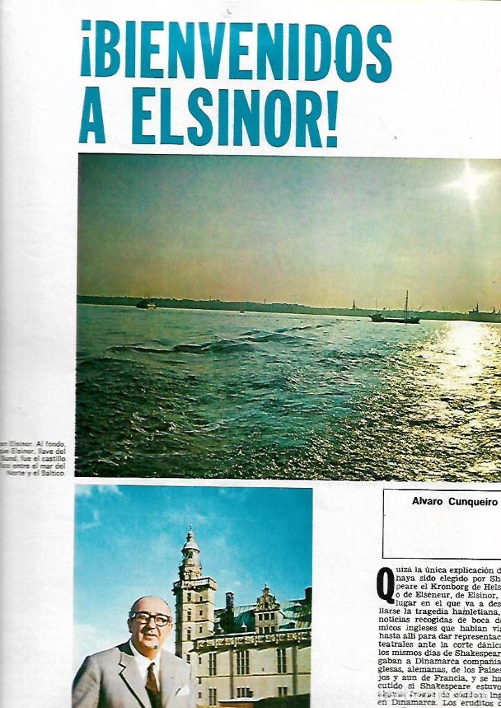 Coleccionismo de Revista Destino: AÑO 1970 ESPECIAL COPENHAGUE HISTORIA PORNOGRAFIA ELSINOR COCINA NORDISK ANDERSEN SOREN KIERKEGAARD - Foto 6 - 11775262