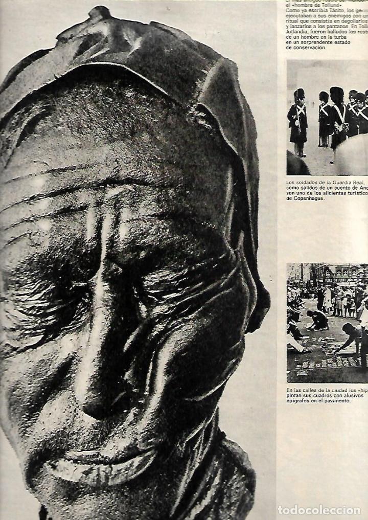 AÑO 1970 ESPECIAL COPENHAGUE HISTORIA PORNOGRAFIA ELSINOR COCINA NORDISK ANDERSEN SOREN KIERKEGAARD (Coleccionismo - Revistas y Periódicos Modernos (a partir de 1.940) - Revista Destino)