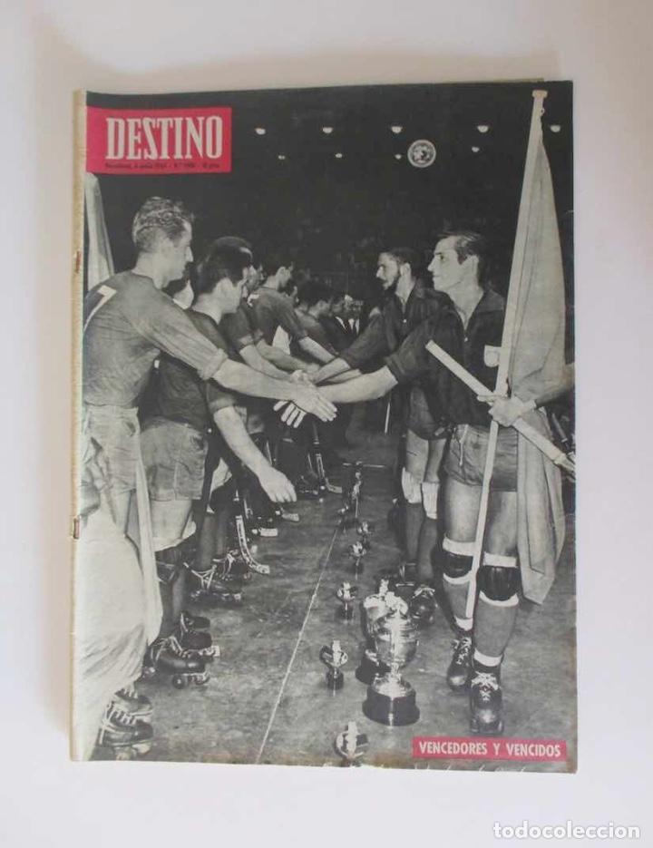 REVISTA DESTINO - AÑO 1964 - ESPAÑA CAMPEONA MUNDIAL DE HOCKEY, GUAYANA, LA HISTORIA ROLLS ROYCE... (Coleccionismo - Revistas y Periódicos Modernos (a partir de 1.940) - Revista Destino)