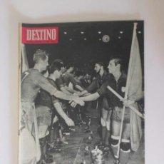 Coleccionismo de Revista Destino: REVISTA DESTINO - AÑO 1964 - ESPAÑA CAMPEONA MUNDIAL DE HOCKEY, GUAYANA, LA HISTORIA ROLLS ROYCE.... Lote 190721978