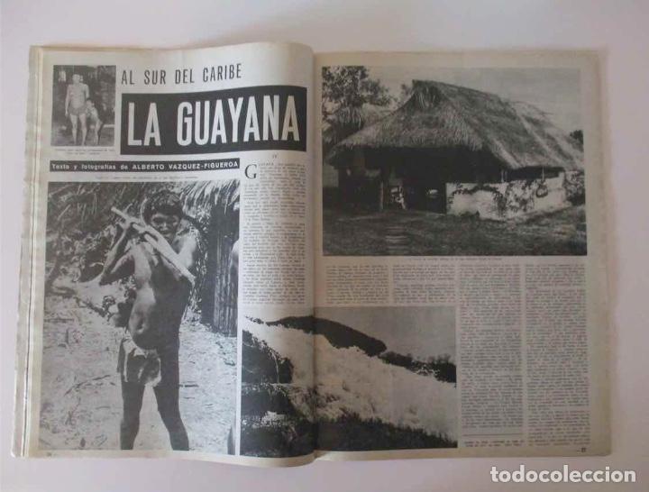 Coleccionismo de Revista Destino: REVISTA DESTINO - AÑO 1964 - ESPAÑA CAMPEONA MUNDIAL DE HOCKEY, GUAYANA, LA HISTORIA ROLLS ROYCE... - Foto 3 - 190721978