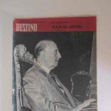 Coleccionismo de Revista Destino: REVISTA DESTINO - AÑO 1964 - FRANCO XXV AÑOS DE PAZ, VIAJE AL JAPON..... Lote 190722247