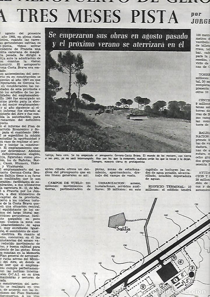Coleccionismo de Revista Destino: 1965 OPERA MISTERI ELCHE MAR MENOR FELIPE II AEROPUERTO GIRONA TRIAS DE BES REINA ELISABETH BELGICA - Foto 5 - 11879192
