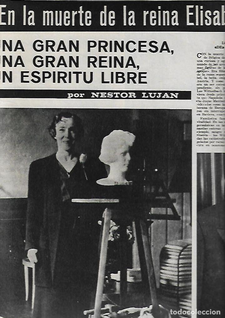 Coleccionismo de Revista Destino: 1965 OPERA MISTERI ELCHE MAR MENOR FELIPE II AEROPUERTO GIRONA TRIAS DE BES REINA ELISABETH BELGICA - Foto 7 - 11879192