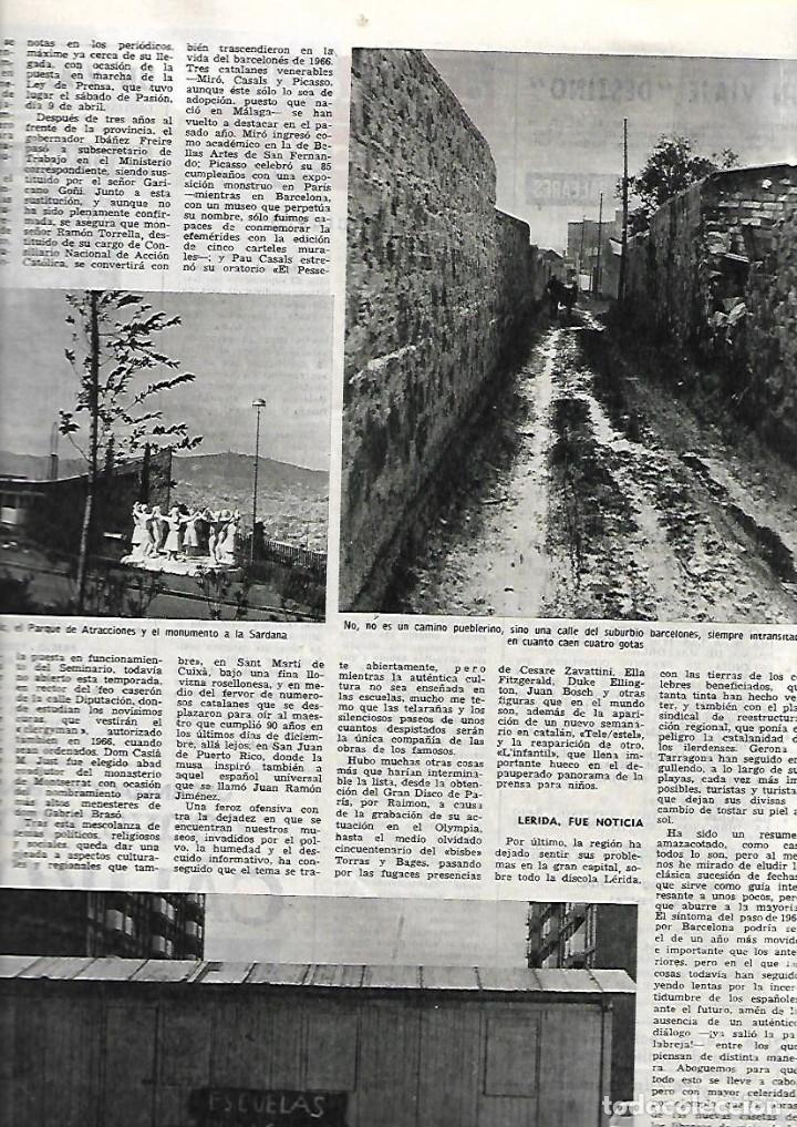 Coleccionismo de Revista Destino: AÑO 1967 BARCELONA URBANISMO LOS JUDIOS MALLORQUINES SALVADOR DE MADARIAGA NOMENCLATURA CASTILLOS - Foto 4 - 11880919