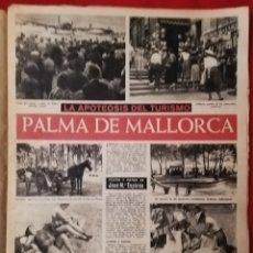 Coleccionismo de Revista Destino: DESTINO - 10 OCTUBRE 1959 - LA APOTEOSIS DEL TURISMO PALMA (MALLORCA) -TAPIES - V. CATALÁ - F. COSTA. Lote 191407072