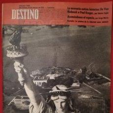 Coleccionismo de Revista Destino: DESTINO -18 MARZO 1961 - DE VAN RIEBEECK A PAUL KRUGER / PINTOR CASAUS / RIPOLL / LA PEDRERA 50 AÑOS. Lote 191422325