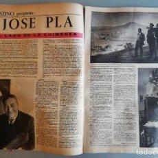 Coleccionismo de Revista Destino: DESTINO -24 DICIEMBRE 1960 - J.PLÀ Y N. LUJAN / CORSO IBICENCO / TEATROS DE BARCELONA DESAPARECIDOS. Lote 191477666