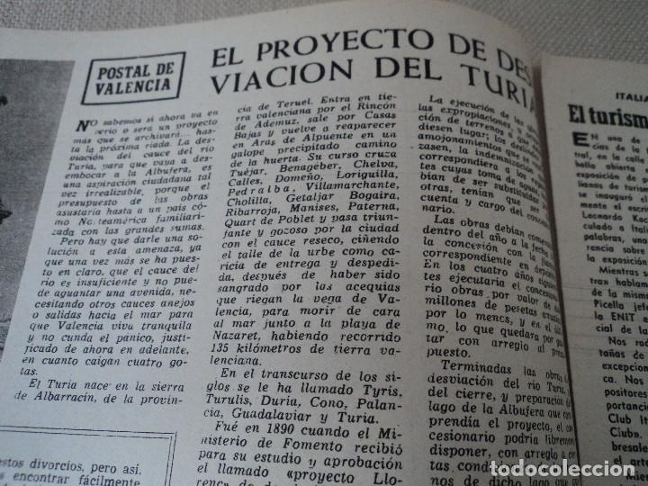 Coleccionismo de Revista Destino: REVISTA DESTINO Nº1067- 1958 carmen martin gaite ver fotos - Foto 5 - 192227192