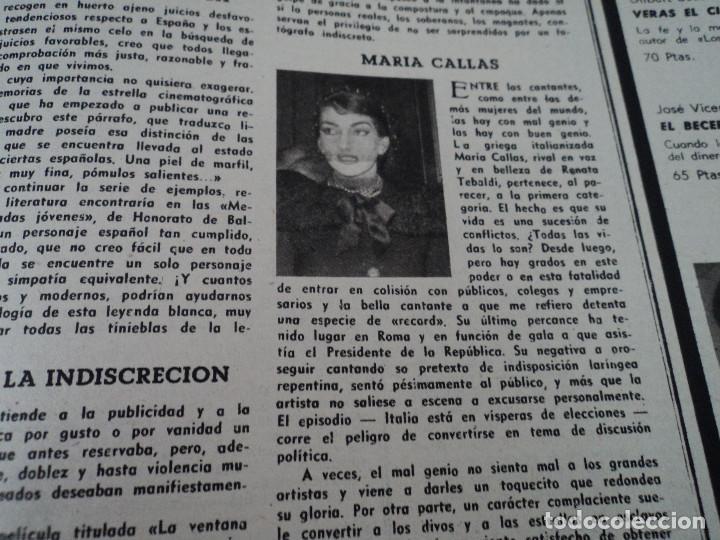 Coleccionismo de Revista Destino: REVISTA DESTINO Nº1067- 1958 carmen martin gaite ver fotos - Foto 11 - 192227192
