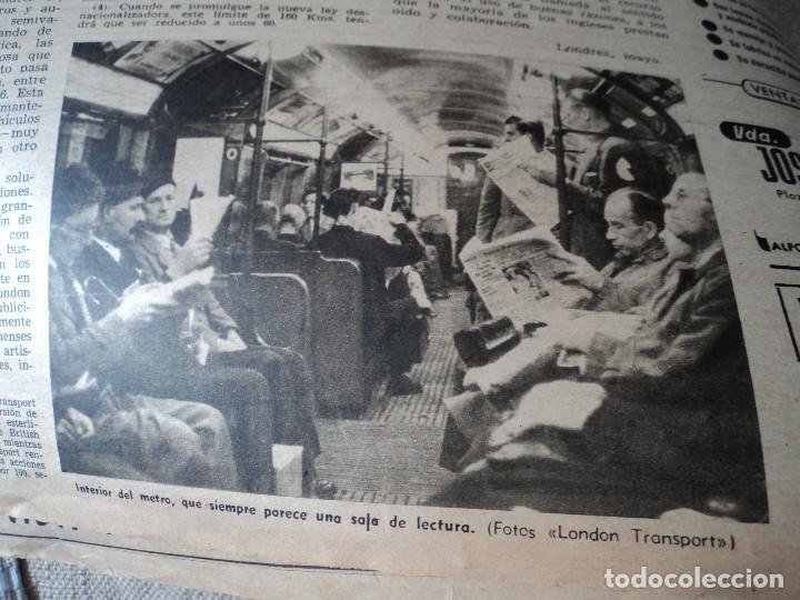 Coleccionismo de Revista Destino: REVISTA DESTINO Nº826- 1953 coronacion isabel II, ver fotos - Foto 4 - 192227386