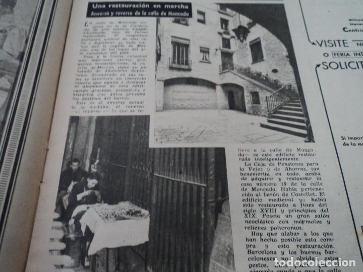 Coleccionismo de Revista Destino: REVISTA DESTINO Nº826- 1953 coronacion isabel II, ver fotos - Foto 6 - 192227386