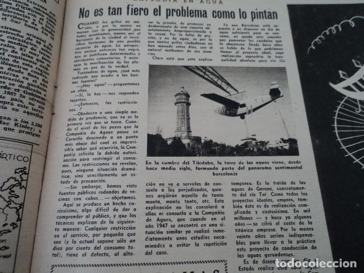 Coleccionismo de Revista Destino: REVISTA DESTINO Nº826- 1953 coronacion isabel II, ver fotos - Foto 7 - 192227386