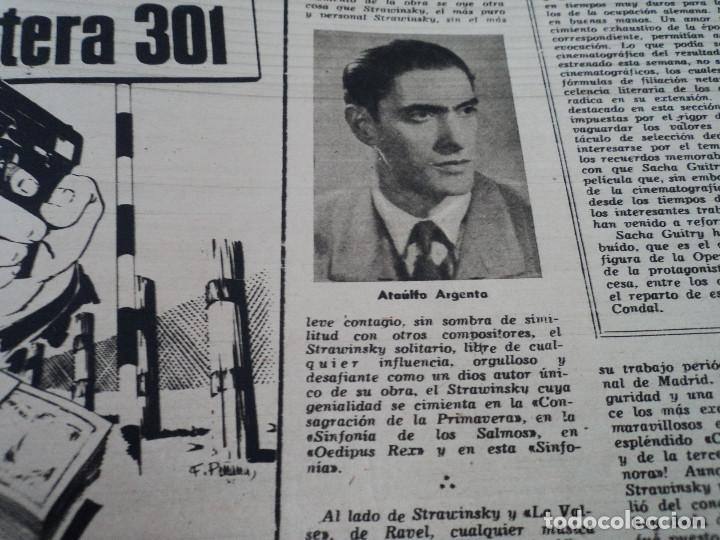 Coleccionismo de Revista Destino: REVISTA DESTINO Nº826- 1953 coronacion isabel II, ver fotos - Foto 10 - 192227386
