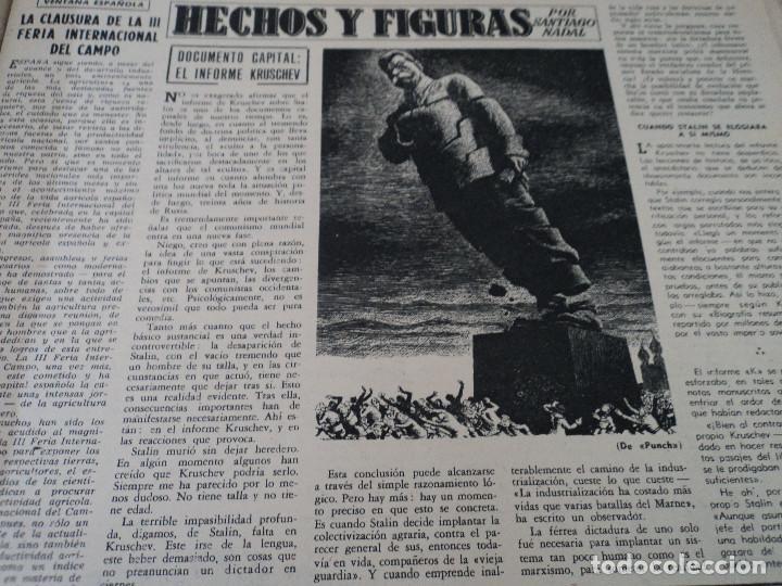 Coleccionismo de Revista Destino: REVISTA DESTINO Nº 986- 1956 LA GRECIA DE NUESTROS DIAS, ver fotos - Foto 4 - 192227560
