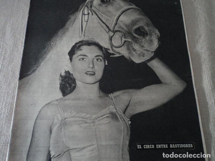 REVISTA DESTINO Nº 862- 1954 EL CIRCO, JUAN MANEN VIOLINISTA , VER FOTOS (Coleccionismo - Revistas y Periódicos Modernos (a partir de 1.940) - Revista Destino)