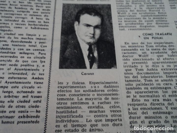 Coleccionismo de Revista Destino: REVISTA DESTINO Nº 862- 1954 EL CIRCO, JUAN MANEN VIOLINISTA , ver fotos - Foto 6 - 192227787