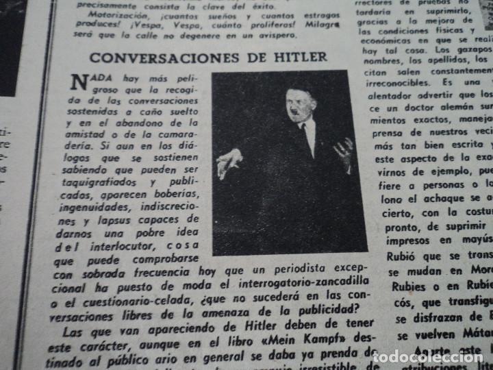 Coleccionismo de Revista Destino: REVISTA DESTINO Nº 862- 1954 EL CIRCO, JUAN MANEN VIOLINISTA , ver fotos - Foto 9 - 192227787